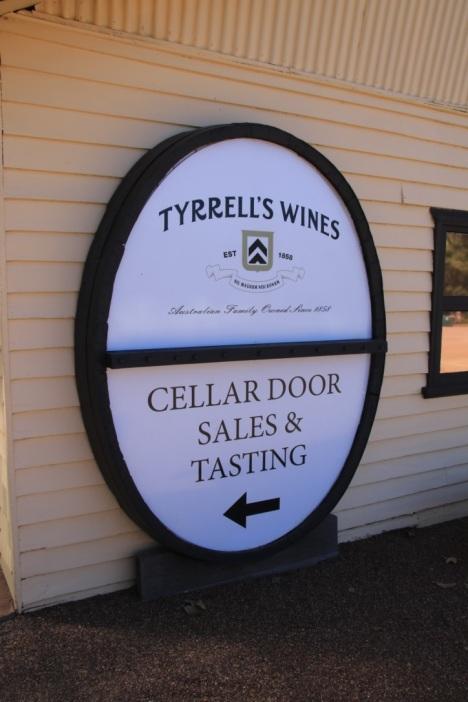 tyrells-sign