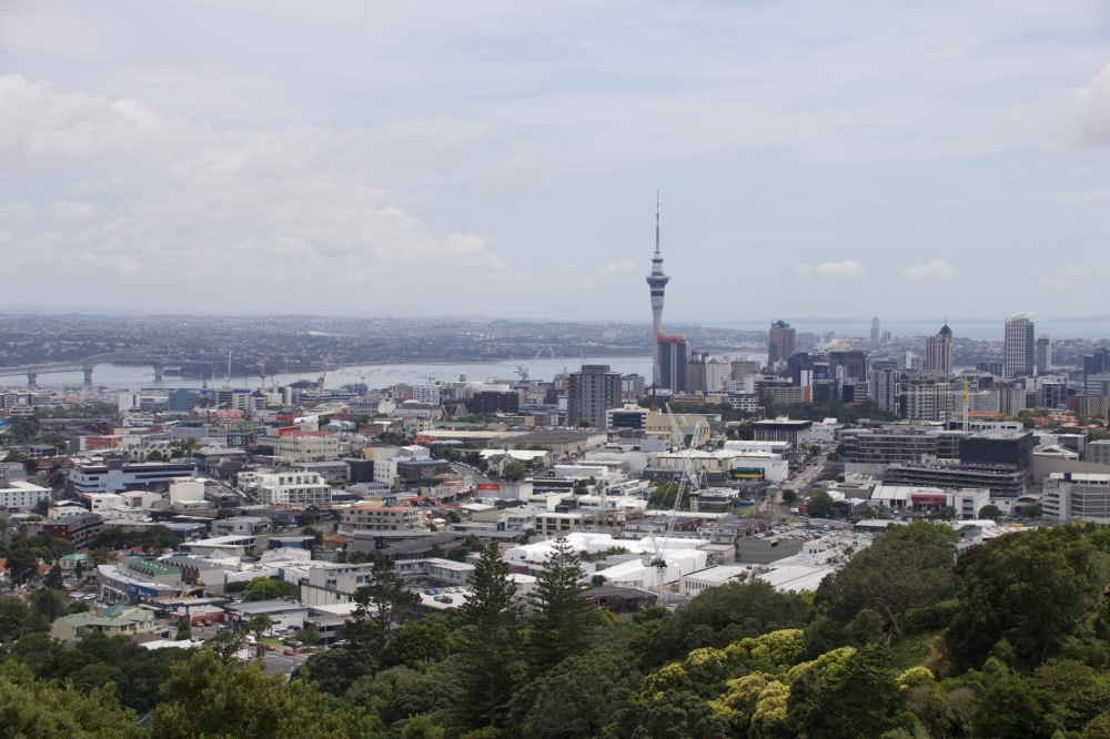 Auckland CBD From Mount Eden