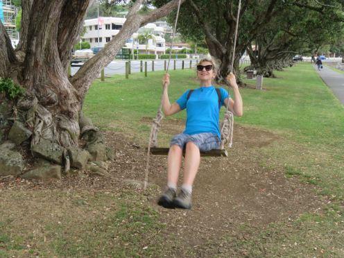 Bird on a Swing