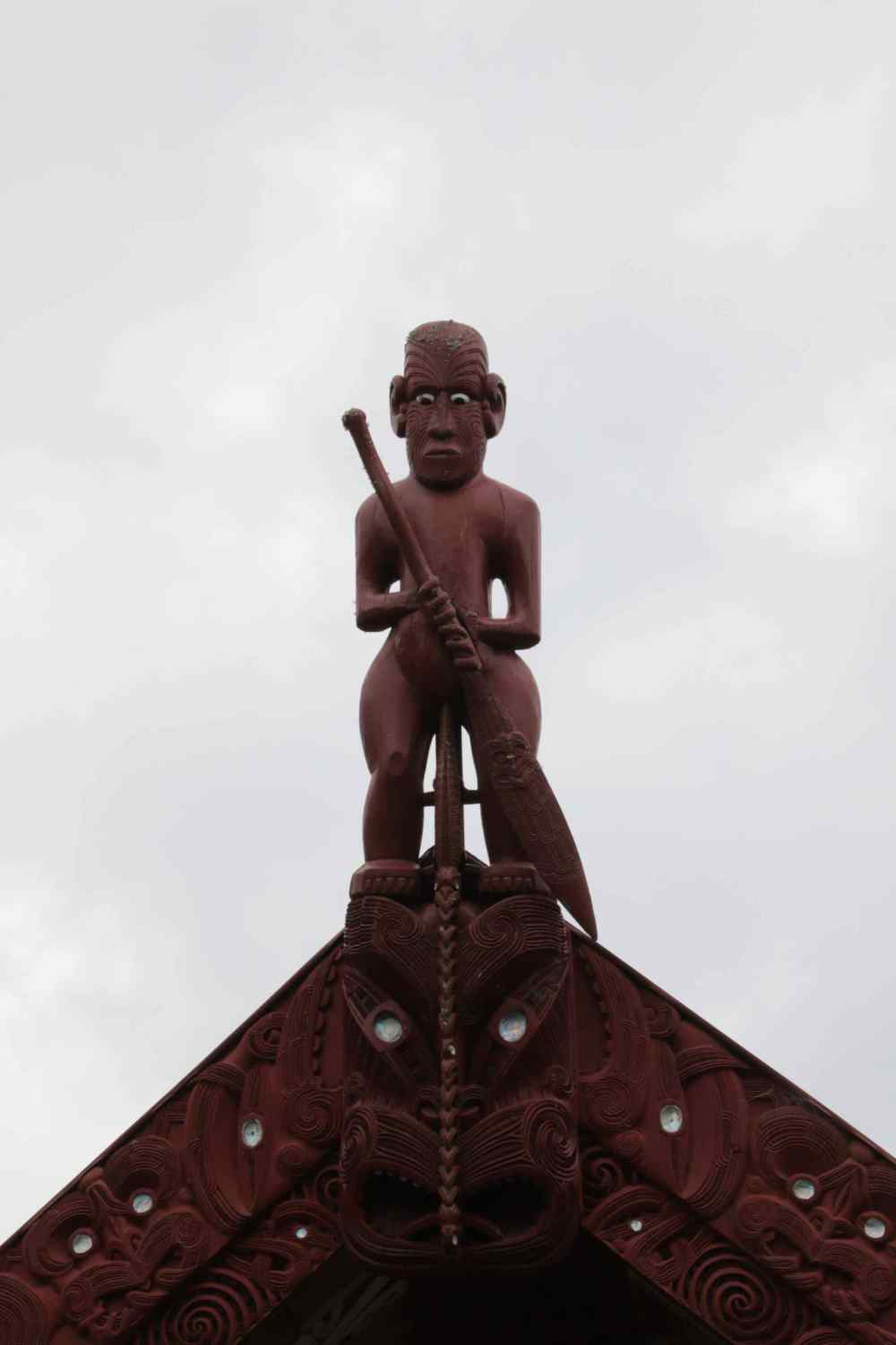Figurehead atop the Meeting House