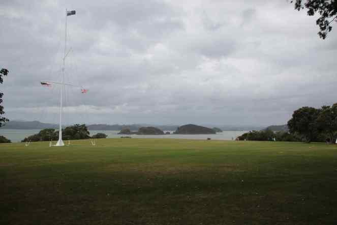 Flags at The Bay of Islands