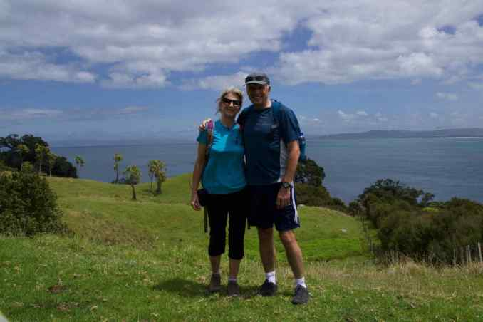 Us at Bream Head
