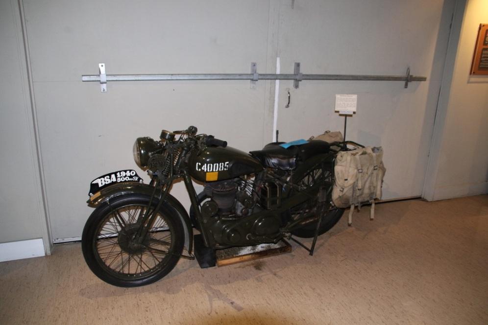 Despatch Riders Bike 1940