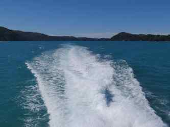 Homeward Bound from Abel Tasman