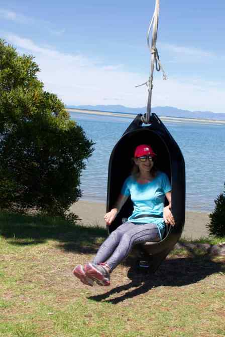 Lyn on a Swing 3