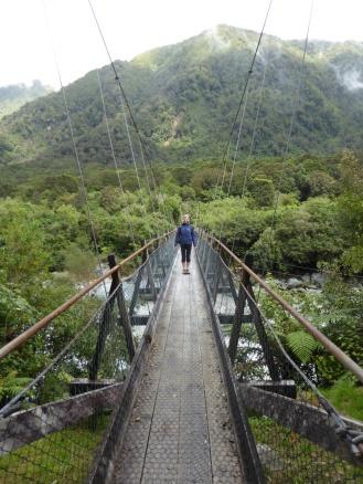 Lyn on Bridge