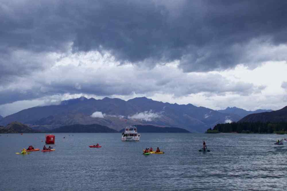 Race Day Lake Wanaka