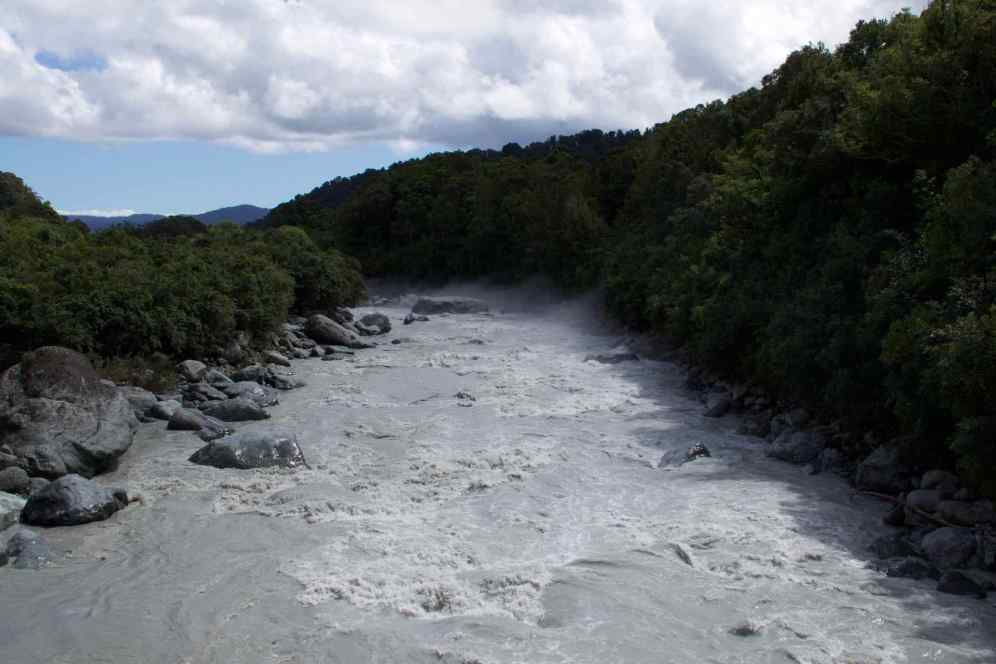River outflow From Glacier