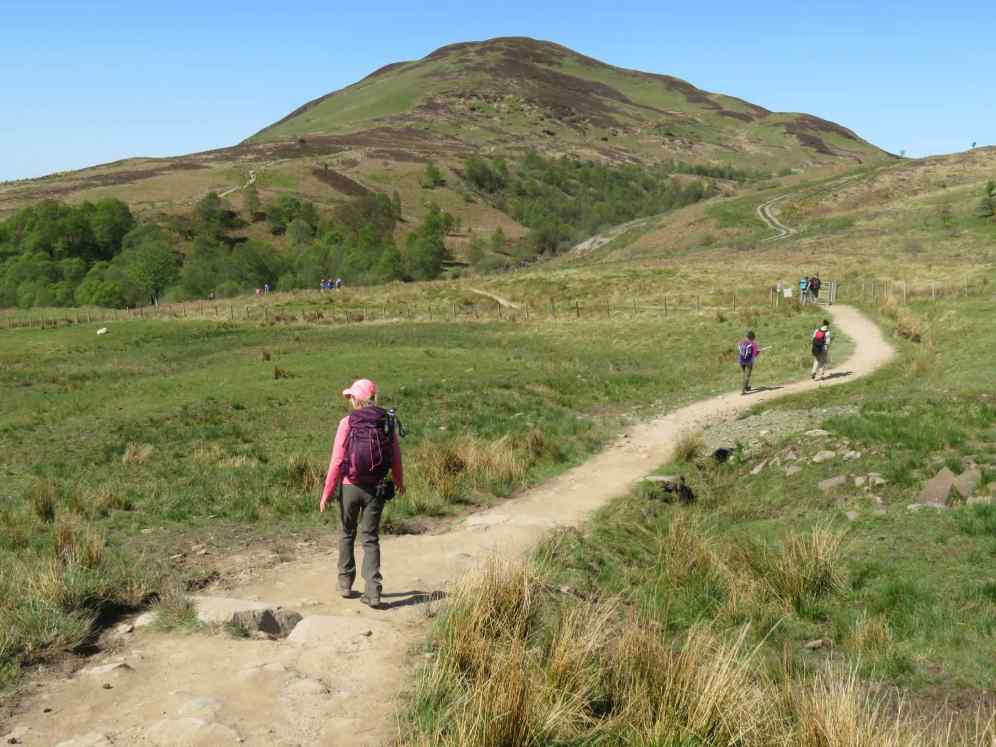 Path to Conic Hill