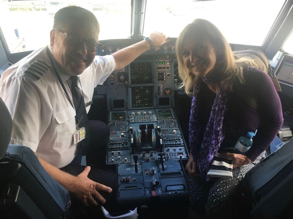 BA's latest co-pilot!