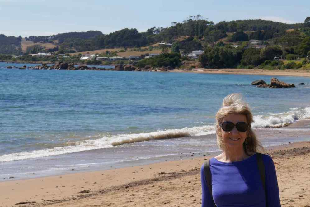 LYN ON BEACH