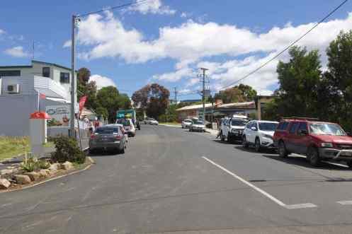 Main Street Coles Bay