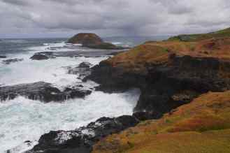 Rocks and Blowhole 2