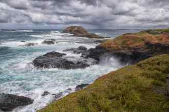 Rocks and Blowhole
