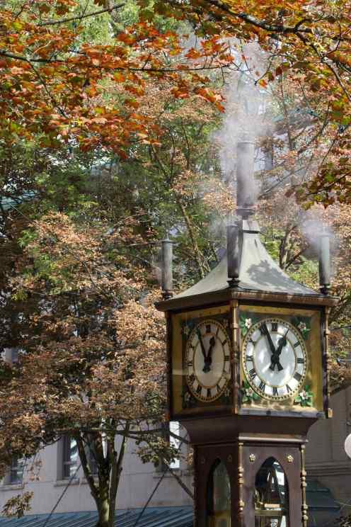 Steam Clock 1