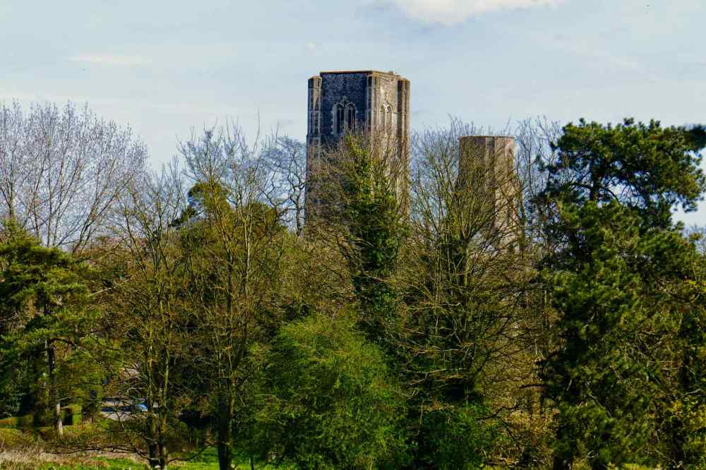 Two Towers Wymondham Abbey
